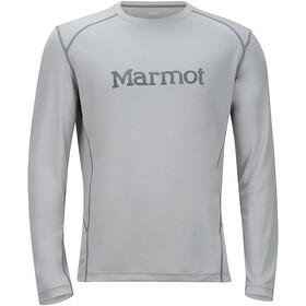 Marmot M's Windridge Graphic Longsleeve Bright Steel/Grey Storm